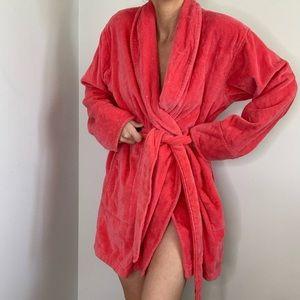 "Victoria's Secret ""Good Girl"" Pink Terry Robe"